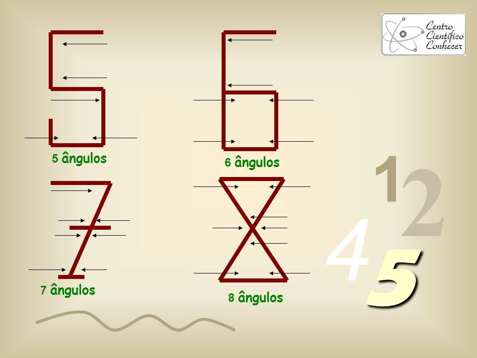 1 2 4 5 1 ângulo 2 ângulos 3 ângulos 4 ângulos