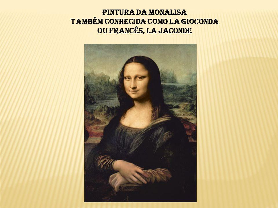  Sua pintura foi iniciada em 1503 e é nesta obra que o artista melhor concebeu a técnica do sfumato.1503sfumato  O quadro representa uma mulher com uma expressão introspectiva e um pouco tímida.