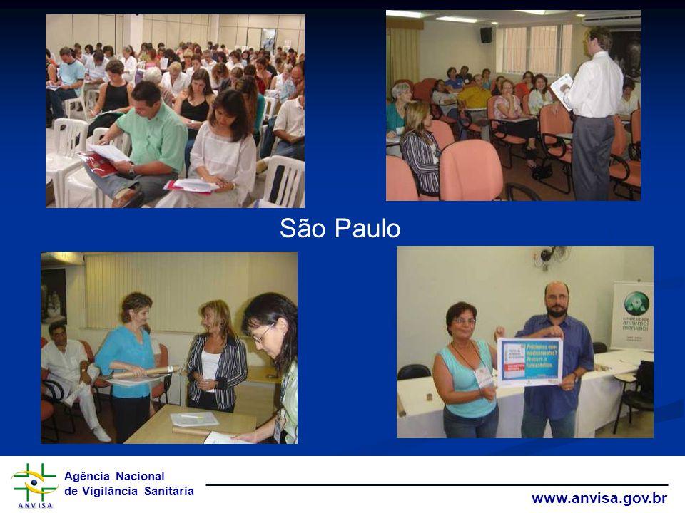 Agência Nacional de Vigilância Sanitária www.anvisa.gov.br São Paulo