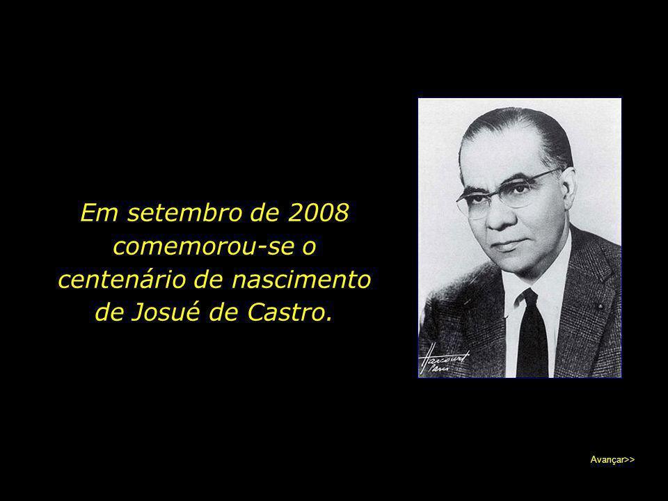 Pela enorme consideração e cuidado que sempre manifestou pelos pobres, o médico pernambucano é lembrado hoje como o profeta dos excluídos. Avançar>>