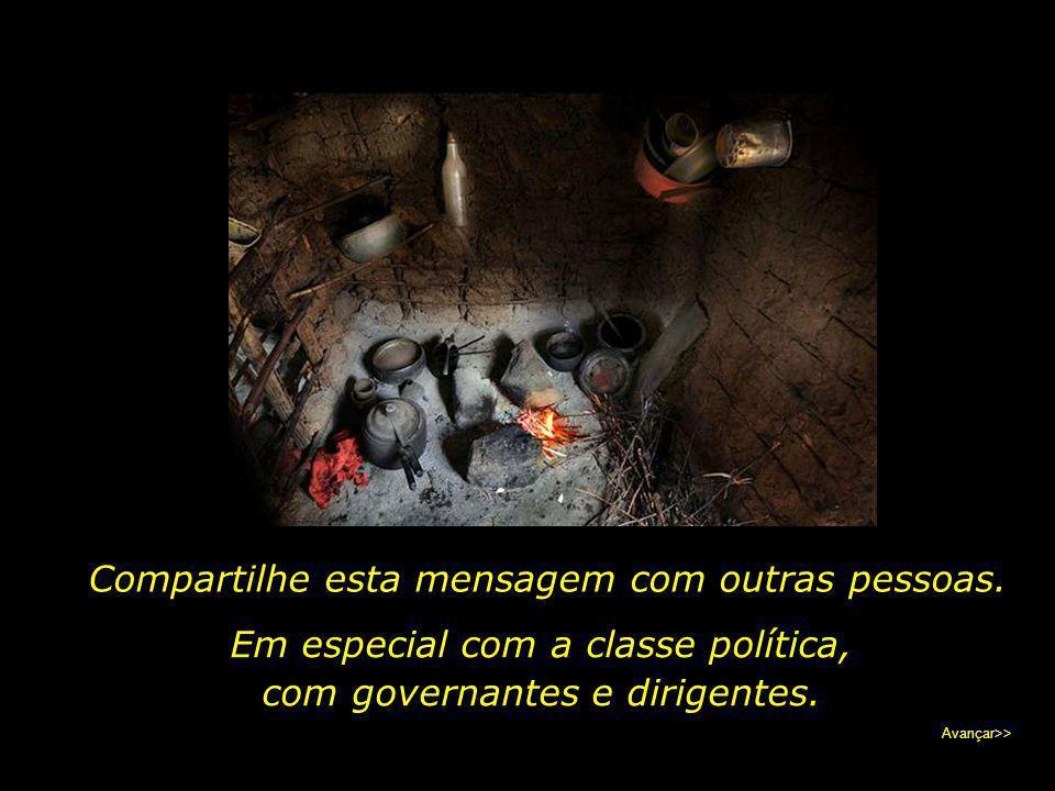 A legião de excluídos no Brasil soma quase 14 milhões de pessoas. Quatorze milhões de bocas incertas da comida de amanhã.