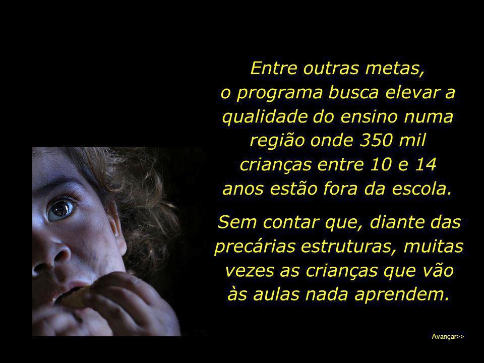 """Aquele cujo coração se dispõe a ajudar encontrará os meios necessários. Existem projetos sérios, como """"O Unicef e o Semi- árido Brasileiro"""", que atua"""
