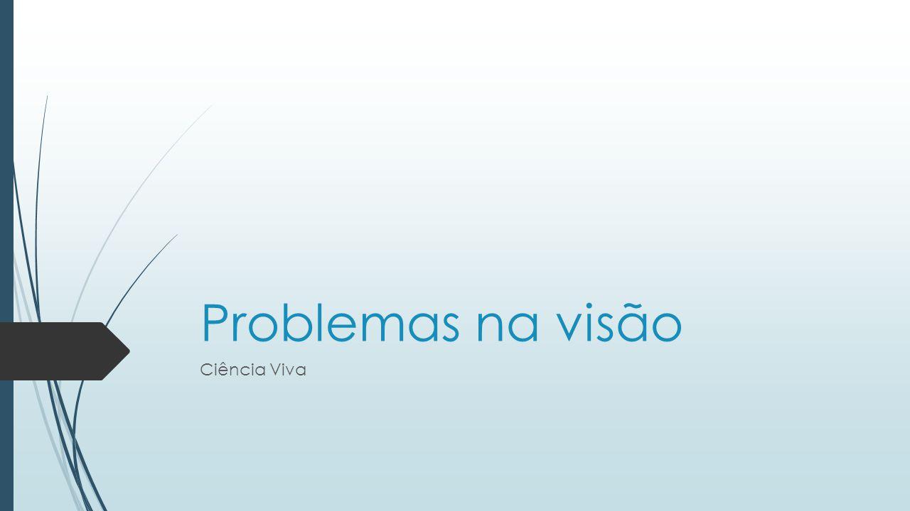 Problemas na visão Ciência Viva