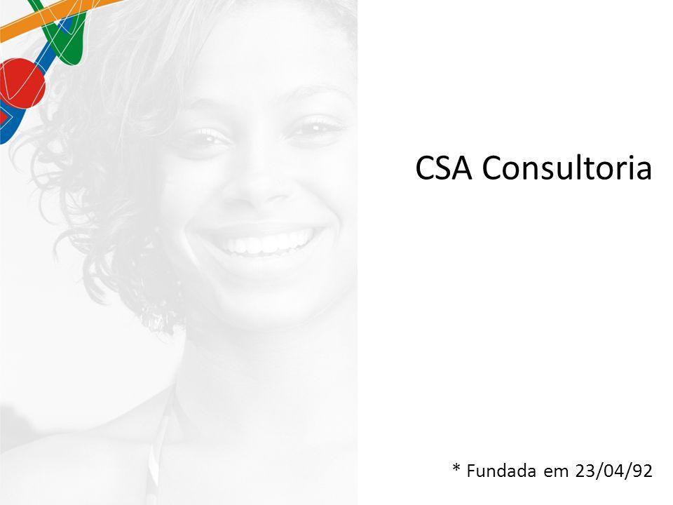 CSA Consultoria * Fundada em 23/04/92