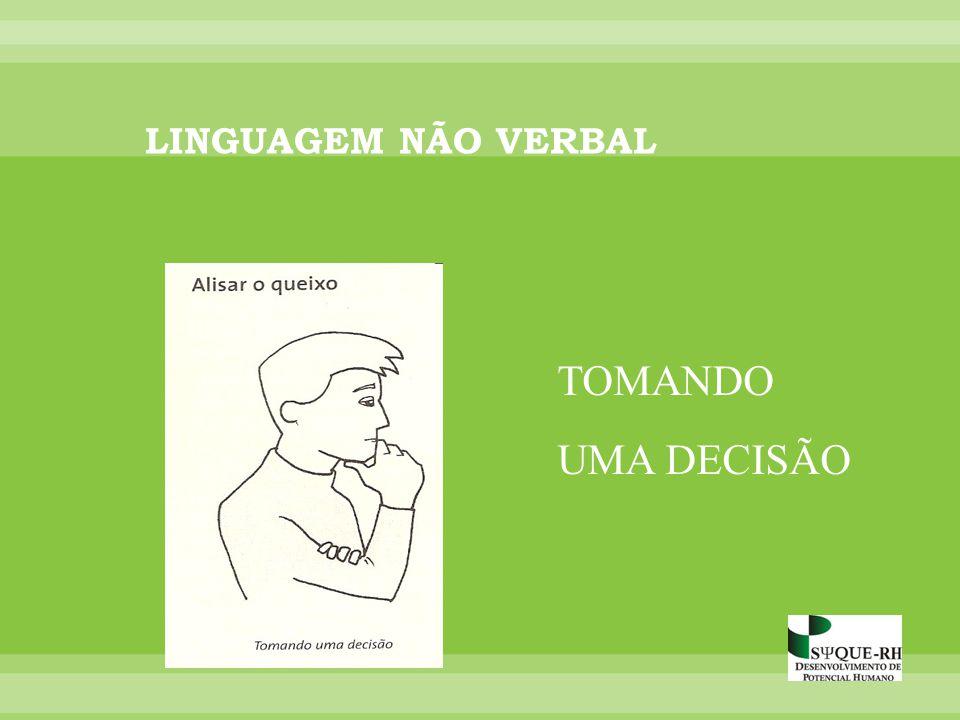 TOMANDO UMA DECISÃO LINGUAGEM NÃO VERBAL
