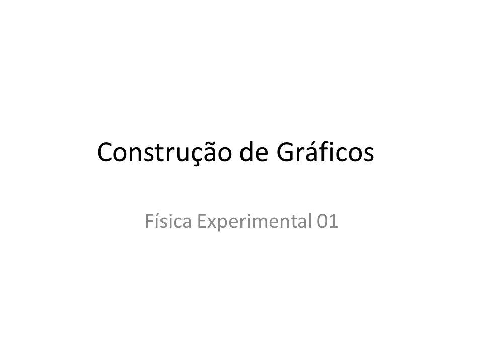 Construção de Gráficos Física Experimental 01