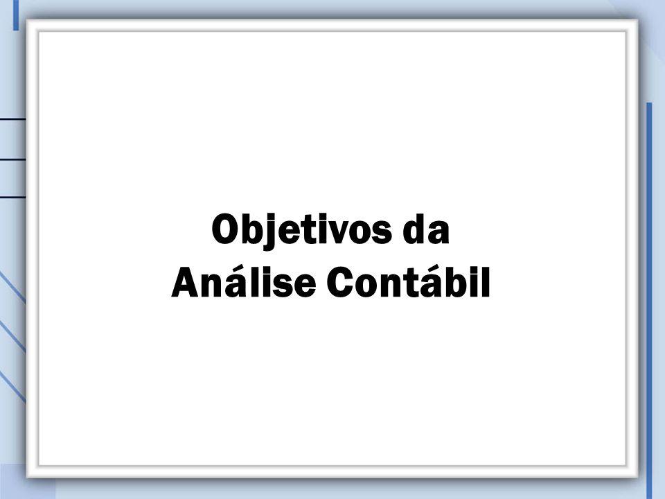 Objetivos da Análise Contábil