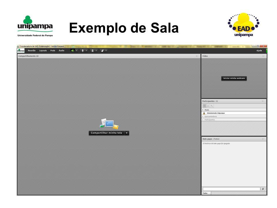 Exemplo de Sala
