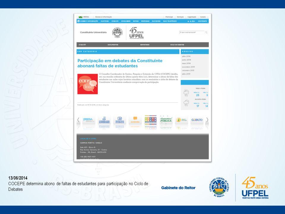 25/06/2014 Comunidade recebe material explicando o que é a Constituinte