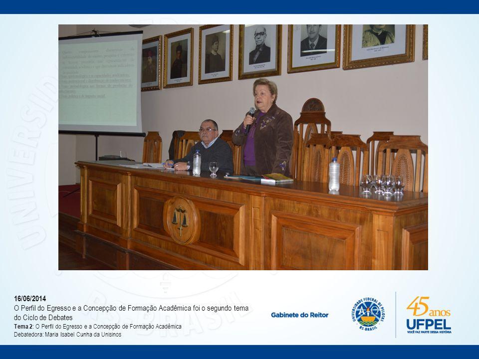 Julho/2014 Reunião das propostas em uma só (a atual) e marcação de reunião do CONSUN para deliberar sobre a metodologia (dia 15 de julho)