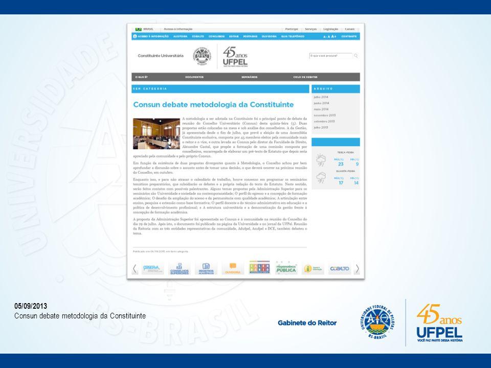 19/11/2013 António Nóvoa abre o Ciclo de Eventos Formativos da Constituinte