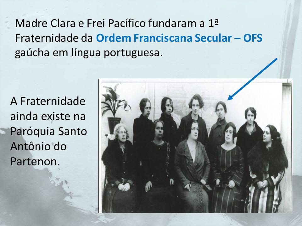 A Congregação das Irmãs Franciscanas de Nossa Senhora Aparecida, nascida neste contexto, surgiu, sobretudo, para ser uma forma de 'Vida Religiosa bem inculturada', e para 'atender pessoas que ainda não eram assistidas'.