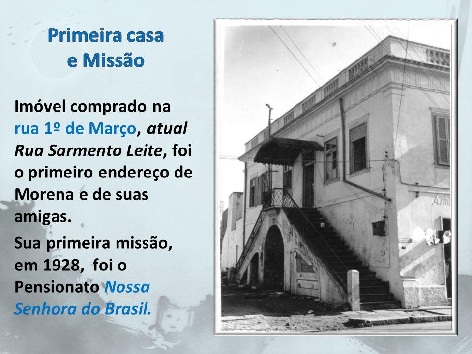 Frei Pacífico tinha boas relações sociais e pessoas generosas acolheram o pedido dele doando terreno e prédio.