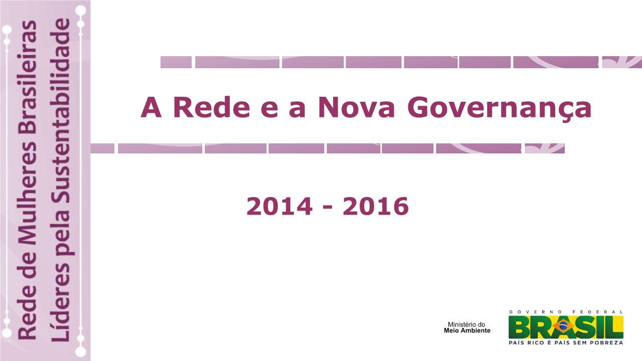 A Rede e a Nova Governança 2014 - 2016