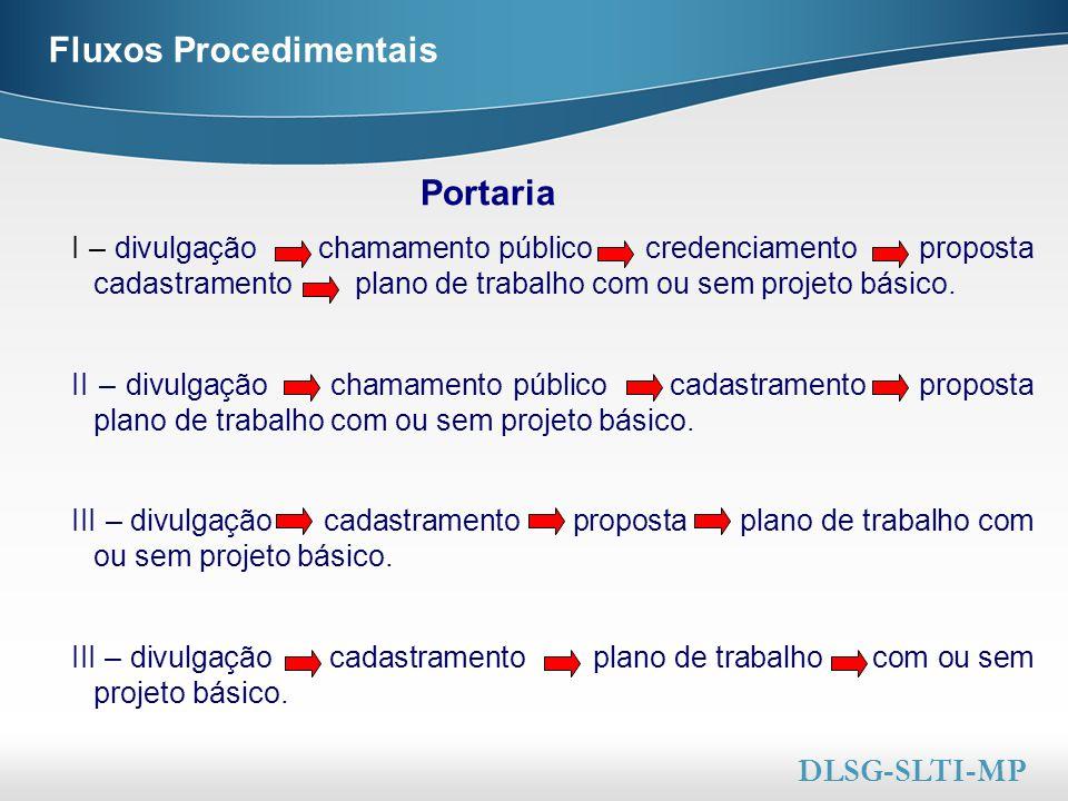 Here comes your footer  Page 23 Fluxos Procedimentais I – divulgação chamamento público credenciamento proposta cadastramento plano de trabalho com o
