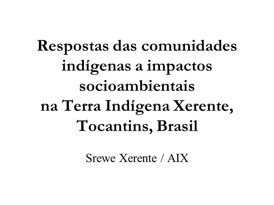 Nossa Terra  T.I.Xerente está situada no norte do estado do Tocantins, a 75 km da capital Palmas.