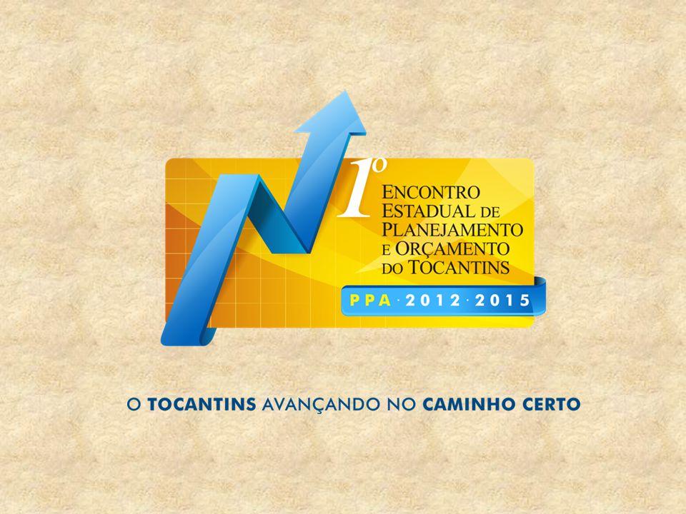 1.O PPA 2012-2015 é a lei que define todas as políticas públicas do governo Estadual para levar o Tocantins novamente rumo ao desenvolvimento, com base nos compromissos firmados na eleição.