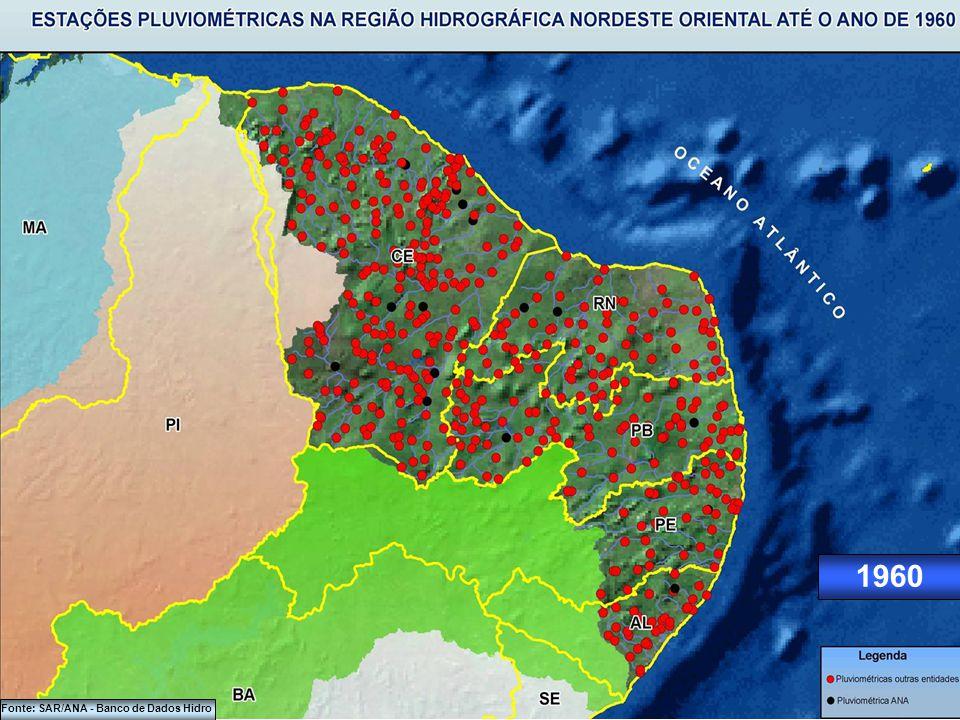 1950 Fonte: SAR/ANA - Banco de Dados Hidro