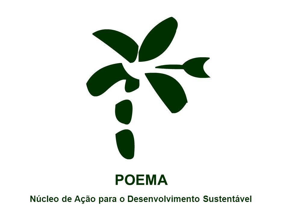 NÚLEO DE AÇÃO PARA O DESENVOLVIMENTO SUSTENTÁVEL – POEMA Oficina para subsidiar a elaboração da estratégia de divulgação da Fase II do SPC&T/PPG7 POEMA Núcleo de Ação para o Desenvolvimento Sustentável