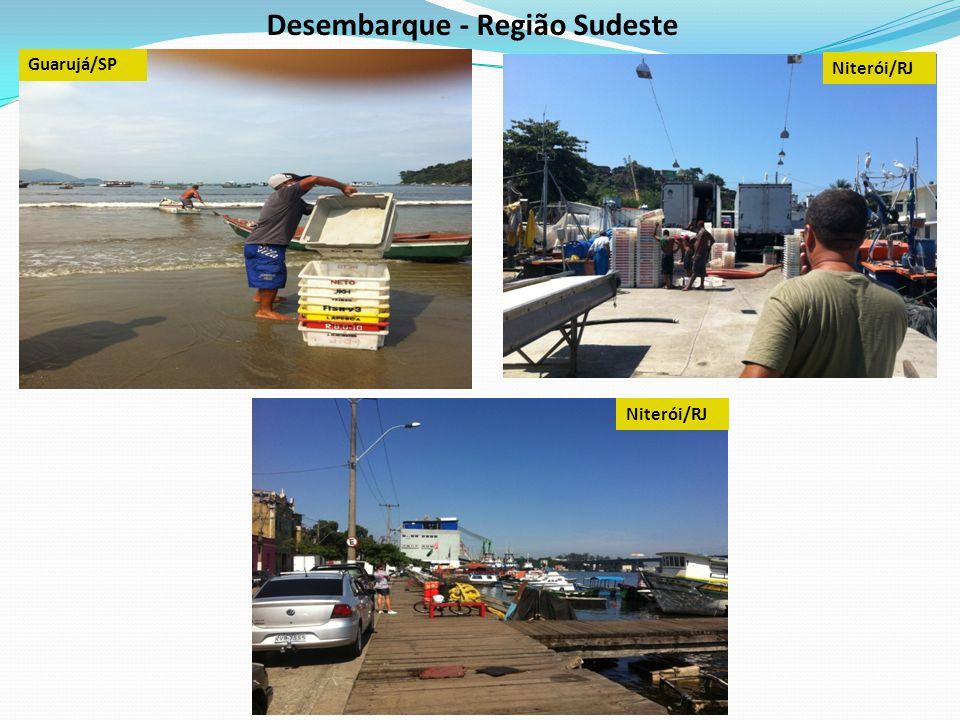 Desembarque - Região Sudeste Guarujá/SP Niterói/RJ