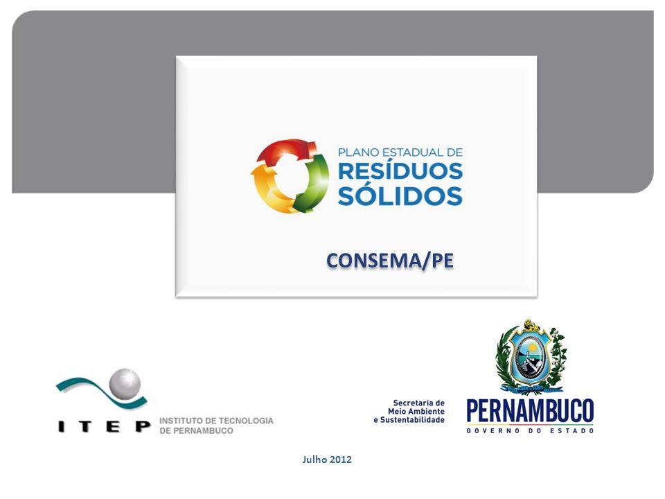 Julho 2012 CONSEMA/PE CONSEMA/PE
