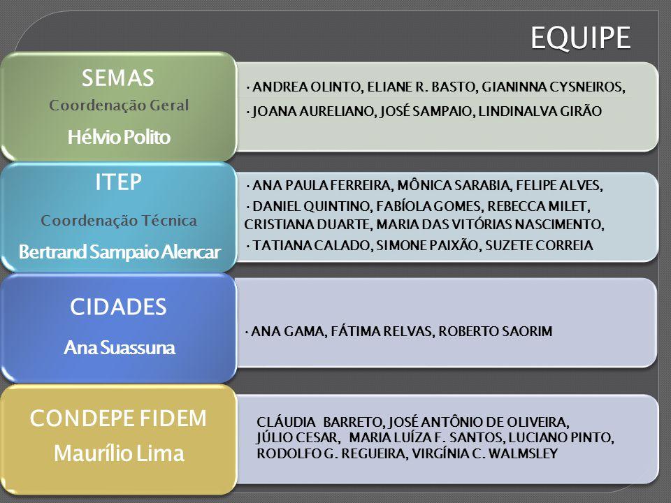 EQUIPE ANDREA OLINTO, ELIANE R.