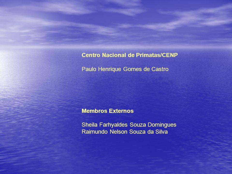 Centro Nacional de Primatas/CENP Paulo Henrique Gomes de Castro Membros Externos Sheila Farhyaldes Souza Domingues Raimundo Nelson Souza da Silva