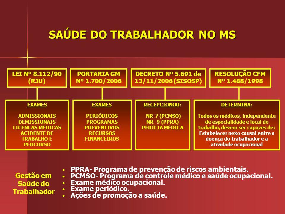 SETOR DE SAÚDE DO TRABALHADOR – SESAT, NO IEC Responsável: Enfermeira Cândida Maria Abrahão de Oliveira