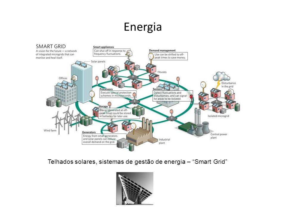 """Energia Telhados solares, sistemas de gestão de energia – """"Smart Grid"""""""