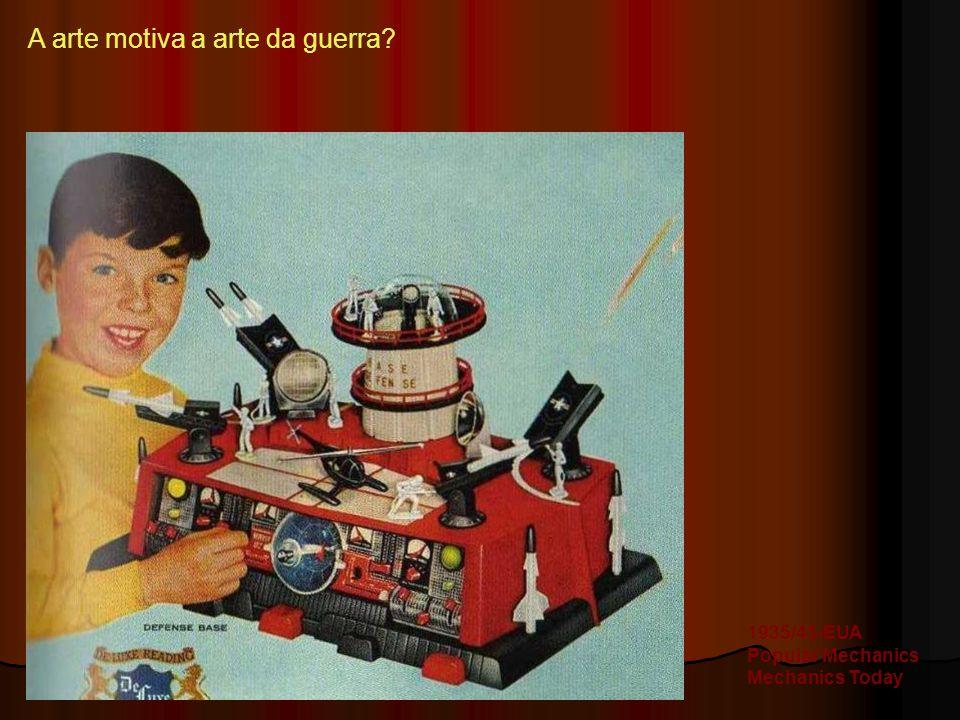 A arte motiva a arte da guerra? 1935/45-EUA Popular Mechanics Mechanics Today