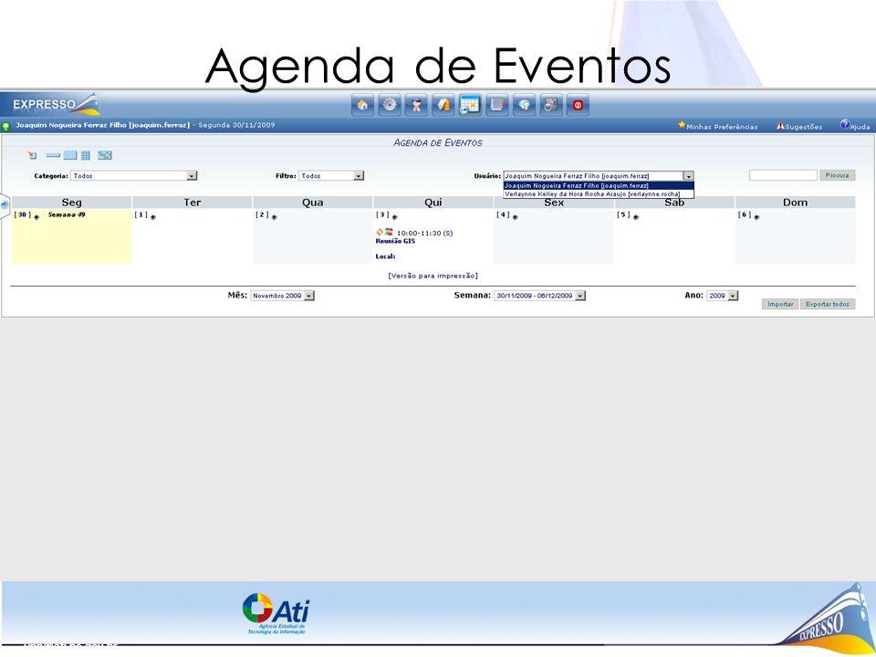 upp@ati.pe.gov.br Agenda de Eventos