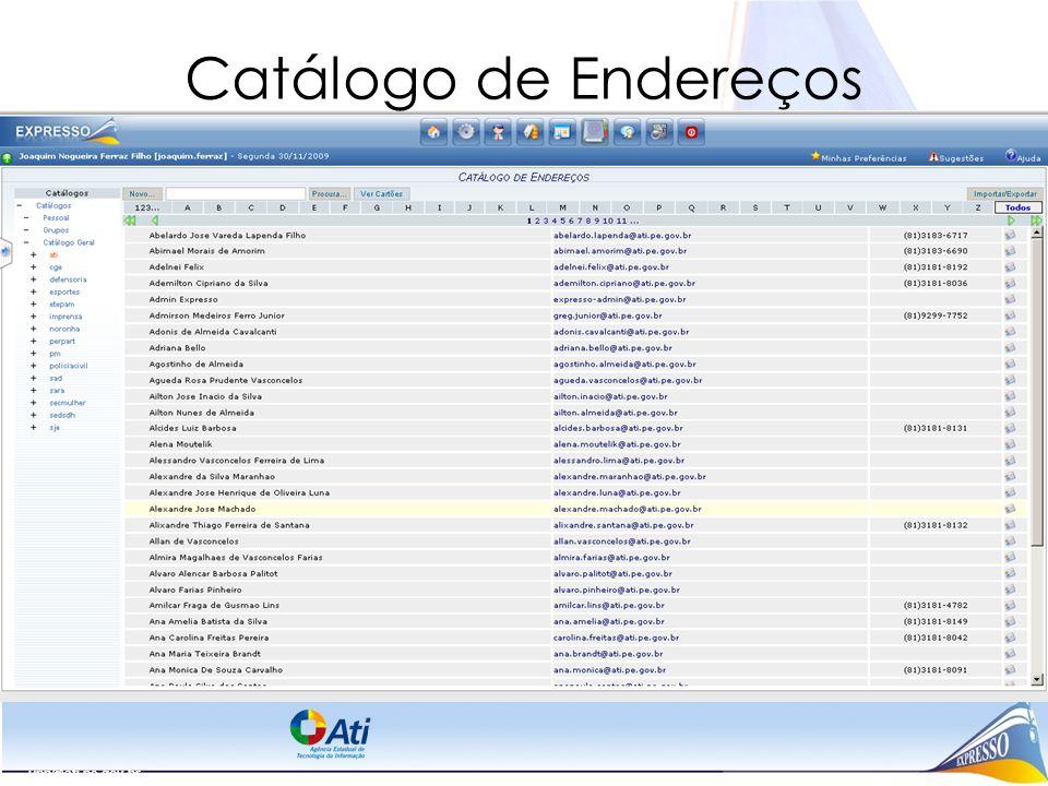 upp@ati.pe.gov.br Catálogo de Endereços