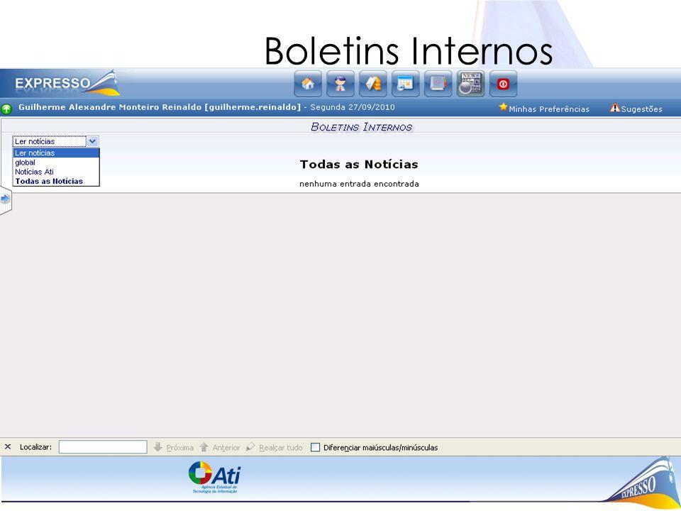 Boletins Internos