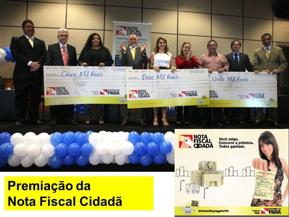 Premiação da Nota Fiscal Cidadã
