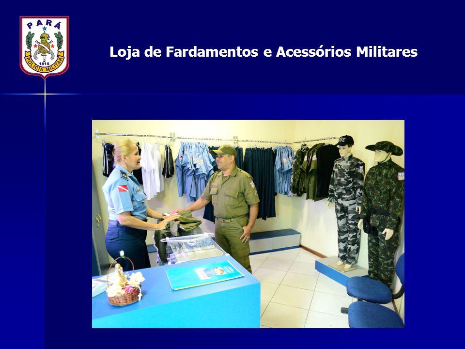 Loja de Fardamentos e Acessórios Militares