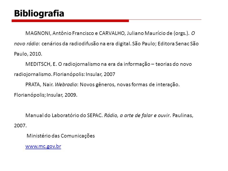MAGNONI, Antônio Francisco e CARVALHO, Juliano Maurício de (orgs.).