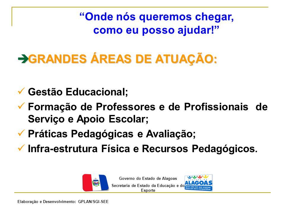  GRANDES ÁREAS DE ATUAÇÃO: Gestão Educacional; Formação de Professores e de Profissionais de Serviço e Apoio Escolar; Práticas Pedagógicas e Avaliaçã