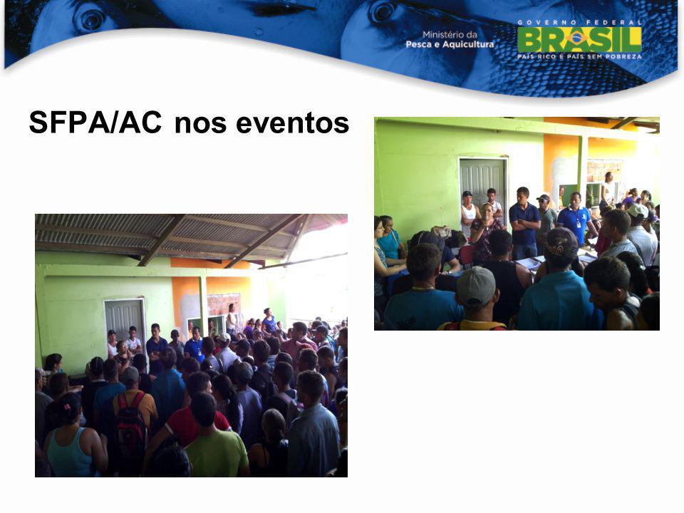 SFPA/AC nos eventos