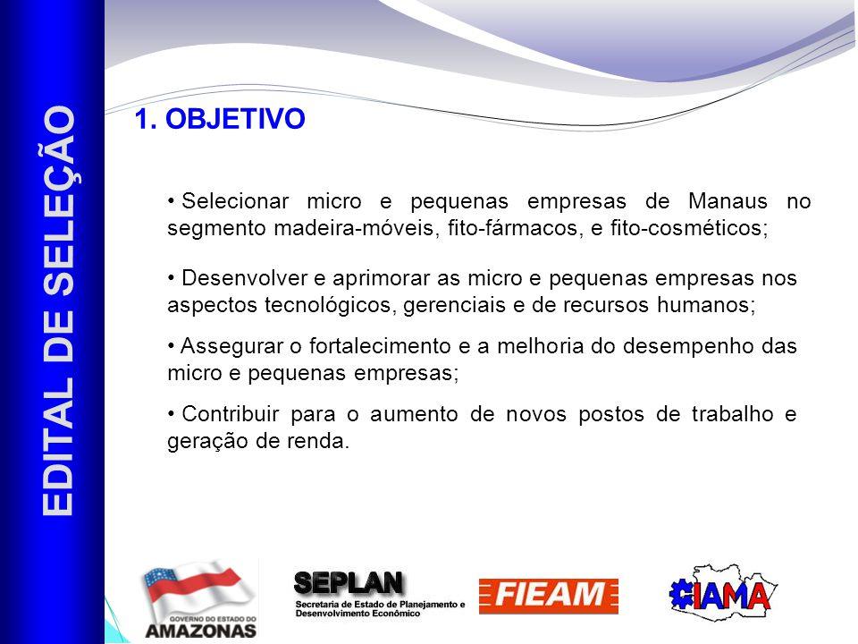 EDITAL DE SELEÇÃO 2.