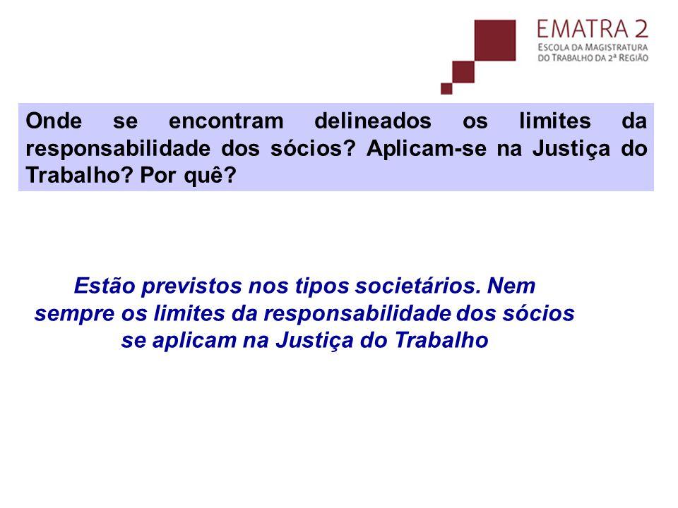 Desconsideração da personalidade jurídica Art.