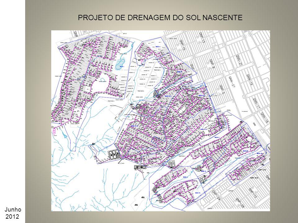 PROJETO DE DRENAGEM DO SOL NASCENTE Junho 2012