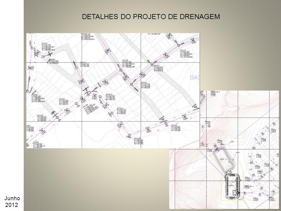 DETALHES DO PROJETO DE DRENAGEM Junho 2012