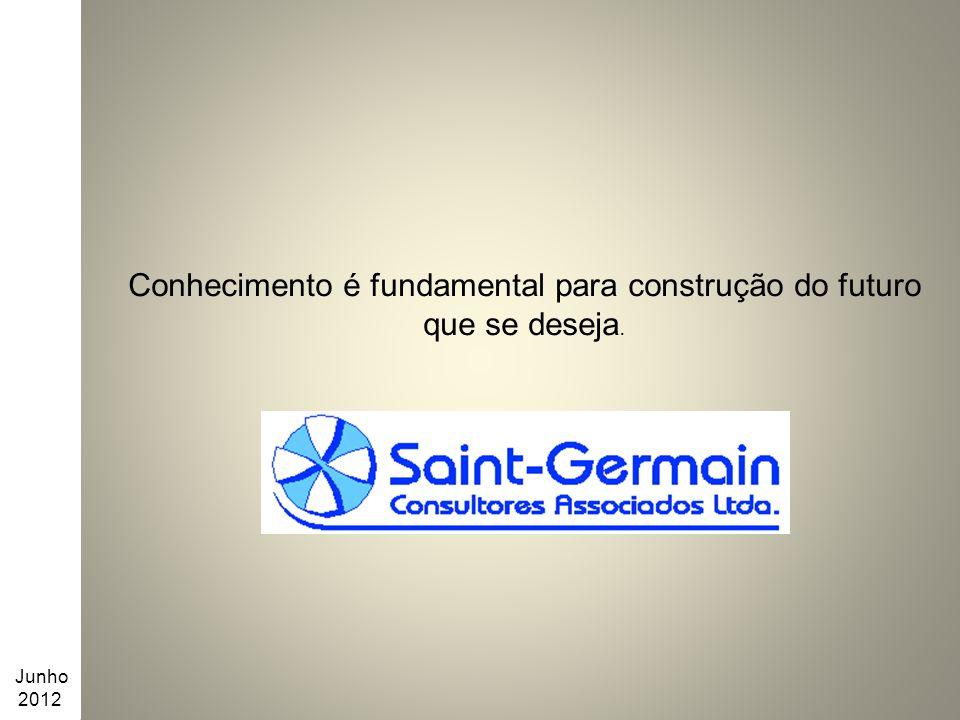 Conhecimento é fundamental para construção do futuro que se deseja. Junho 2012