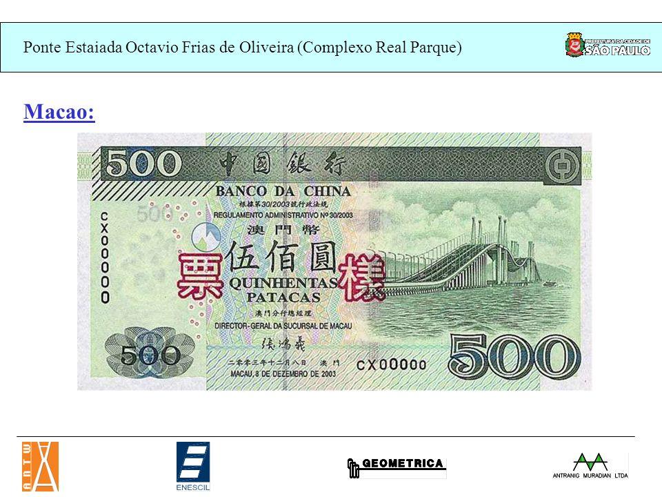 Ponte Estaiada Octavio Frias de Oliveira (Complexo Real Parque) Macao: