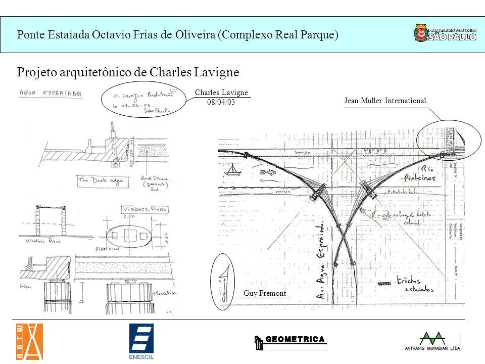 Ponte Estaiada Octavio Frias de Oliveira (Complexo Real Parque) Uniao Européia:
