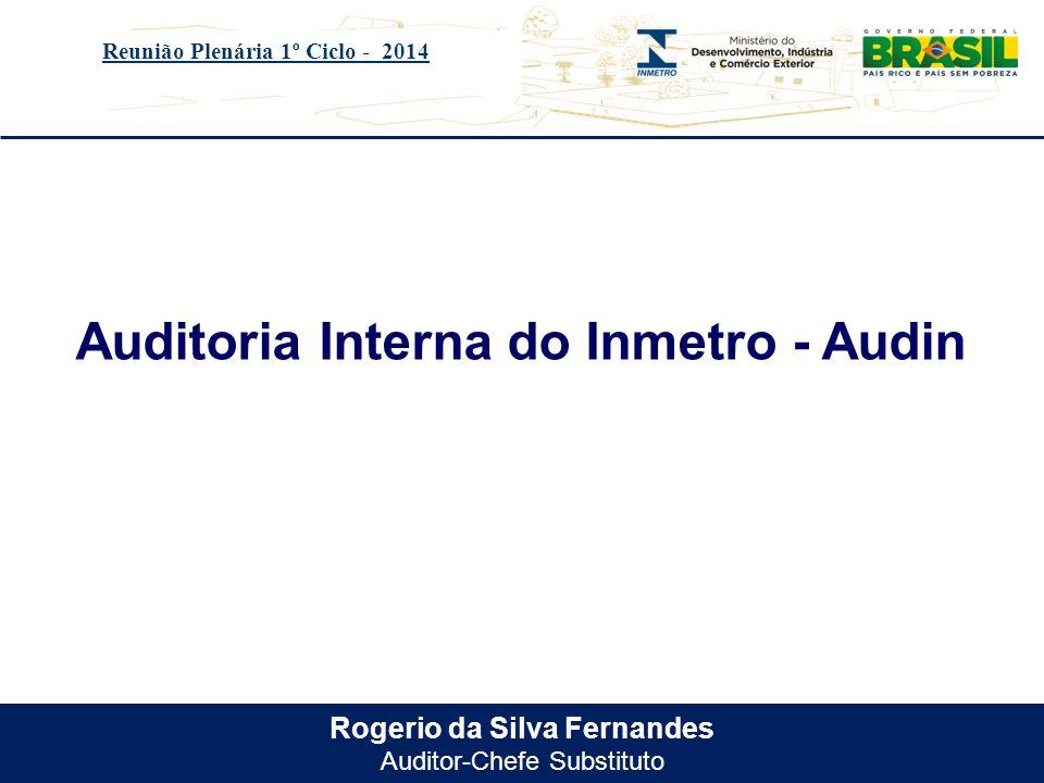Título do evento Legislações referentes a Auditoria Interna Reunião Plenária 1º Ciclo - 2014 Decreto n.º 3591, de 06 de setembro de 2000.