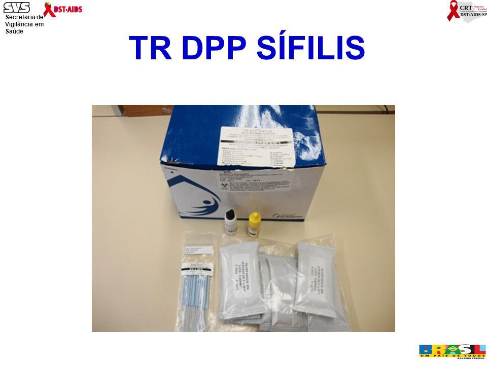 Secretaria de Vigilância em Saúde Ministério da Saúde TR DPP SÍFILIS