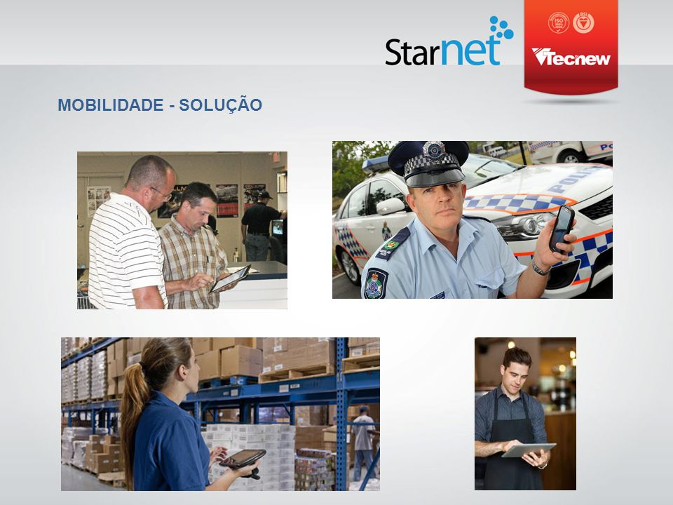 ARQUITETURA DA REDE STARNET