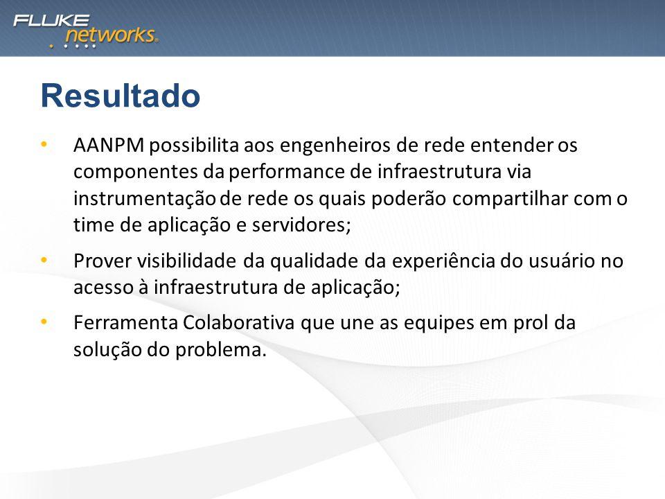 AANPM possibilita aos engenheiros de rede entender os componentes da performance de infraestrutura via instrumentação de rede os quais poderão compart