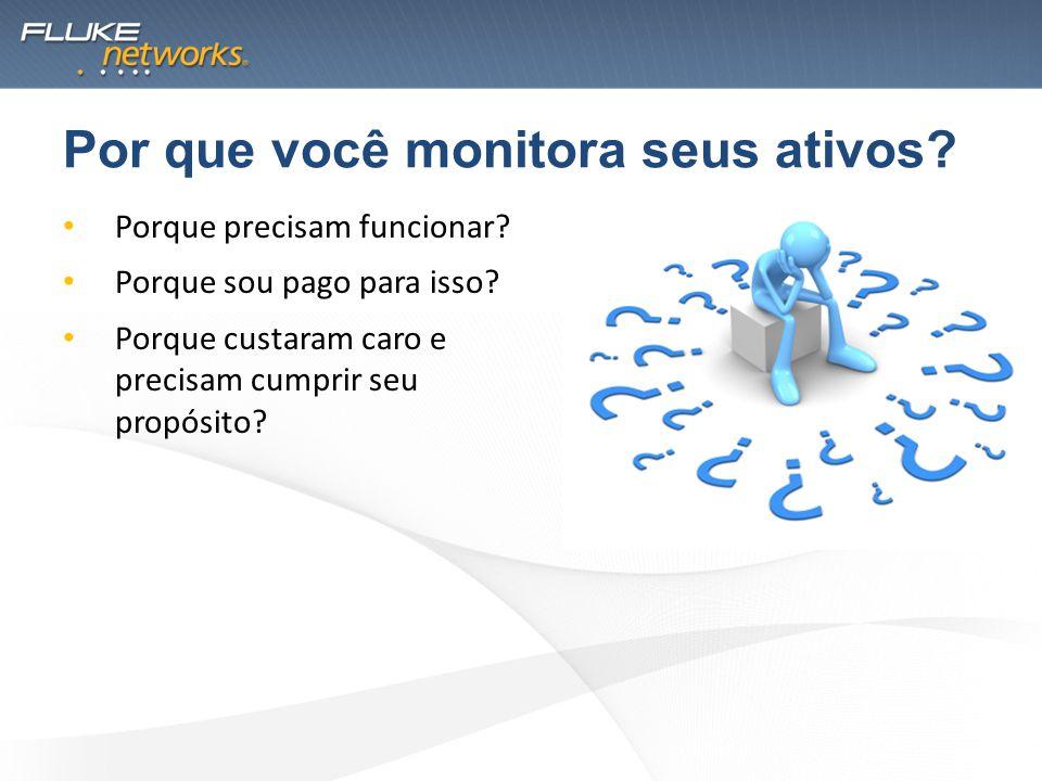 Completo Monitoração de Performance Global; Monitoração e Diagnóstico de Aplicação; Monitoração e Diagnóstico de Rede; Monitoração e Diagnóstico de VoIP.